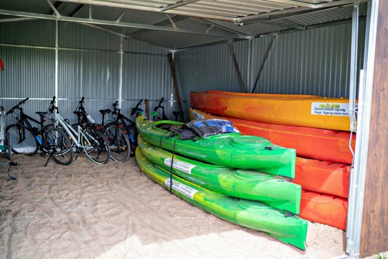 Wypożyczalnia kajaków i rowerów Zacisze Zielone Ogrody