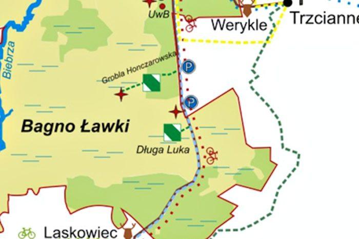 Długa Luka mapa